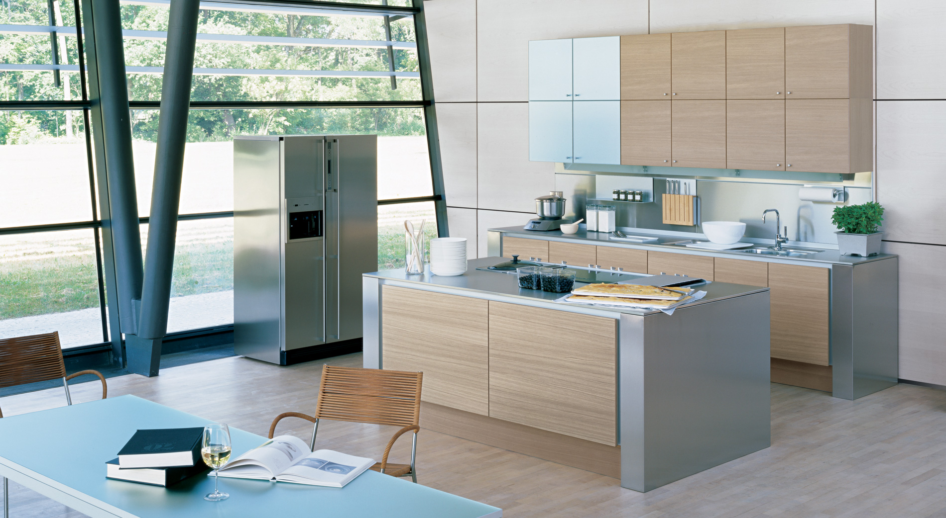 Poggenpohl portugal segmento for Modern kitchen design aluminium